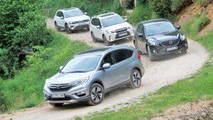 4款城市SUV混战 斯巴鲁森林人对阵途观