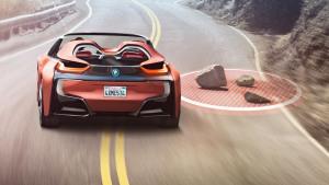 比i8超跑酷炫 宝马全新互联驾驶概念车