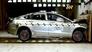 2017款福特蒙迪欧 NHTSA正面碰撞测试