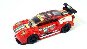 组装法拉利458 Italia GT2车身花哨风骚