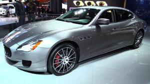 2016款玛莎拉蒂总裁GTS 四门豪华轿跑车