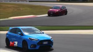 全新标致308 GTi 赛道对比新款福克斯RS