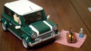 快速拼接玩具MINI Cooper Q萌小跑车