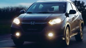 2016款本田HR-V  采用黑色进气格栅