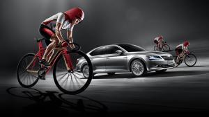 斯柯达速派 赞助奥运中国国家自行车队