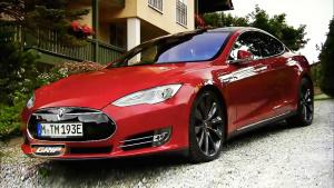 特斯拉Model S 电动豪华智能四门轿跑车