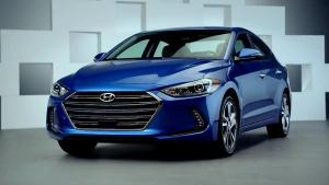 2017款现代伊兰特 定位于紧凑级轿车