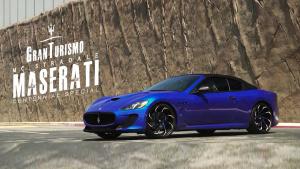 玛莎拉蒂GT MC 换装Lexani轮毂