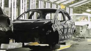 2016款标致208车间实拍 生产过程曝光