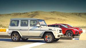三款SUV直线比拼 兰博基尼Urus称霸