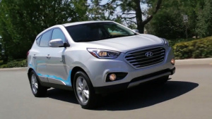 团队新成员 现代途胜氢燃料电池SUV
