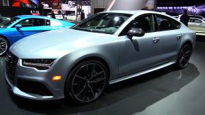 2016款奥迪RS7高性能车 采用掀背造型