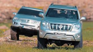 丰田普拉多/奔驰ML级 遥控车水路越野