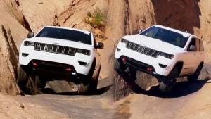Jeep大切诺基Trailhawk 峡谷极限越野