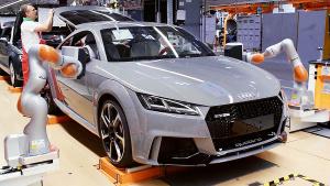 匈牙利杰尔工厂探秘 奥迪TT RS新鲜出炉