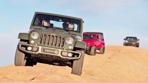 Jeep牧马人/大切诺基 攀爬岩石震撼十足
