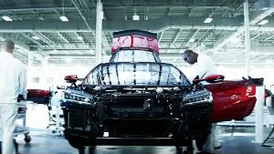 2017款讴歌NSX 采用碳陶瓷刹车片