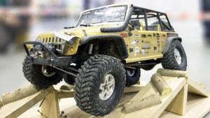 Jeep牧马人遥控车 室内障碍越野秀