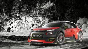 2016巴黎车展 雪铁龙C3 WRC概念赛车