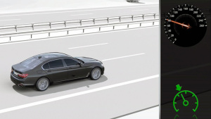 全新宝马7系 展示主动定速巡航控制系统