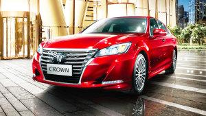 一汽丰田全新皇冠 配备四种驾驶模式