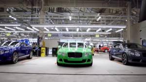 揭秘豪车诞生 宾利欧陆GT生产车间