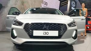 2016巴黎车展 2017款现代i30帅气登场