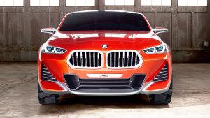 全新宝马X2概念车 定位紧凑型轿跑SUV