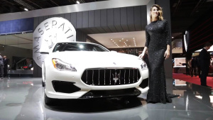 2016巴黎车展 2017款玛莎拉蒂总裁GTS