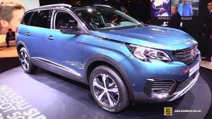 2016广州车展 全新标致5008或将发布