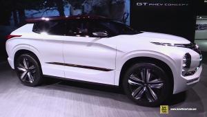 三菱GT-PHEV概念车内外实拍 全地形SUV