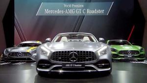 奔驰AMG GT C Roadster 巴黎车展发布