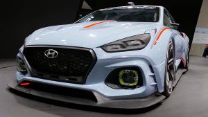 2016巴黎车展 现代RN30正式亮相
