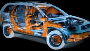 2016款沃尔沃X90 硼钢车身五星安全