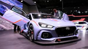 2016巴黎车展 现代RN30概念车亮相发布