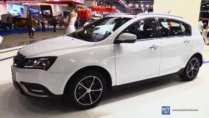 新款吉利帝豪EC7两厢版 海外车展实拍