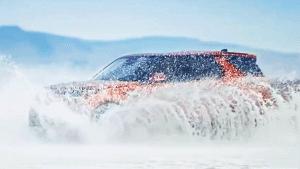 豪华SUV路虎全新一代发现 越野能力出众