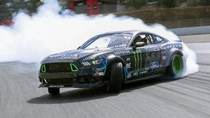 福特Mustang RTR 赛道高速漂移帅到爆