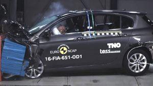 全新菲亚特Tipo E-NCAP碰撞测试