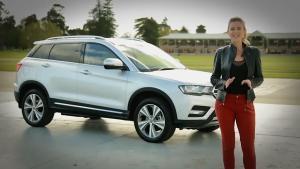 澳洲美女评测 海外版哈弗H6 coupe