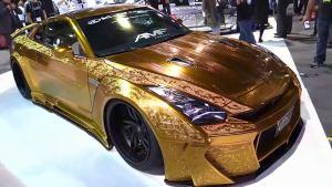 黄金战神 改装日产GT-R细节展示