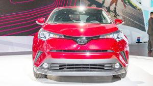 2016洛杉矶车展 新款丰田C-HR内外实拍