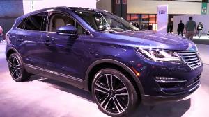2017款林肯MKC 定位于中型豪华SUV