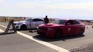 凯迪拉克CTS-V道奇Charger 肌肉车大战