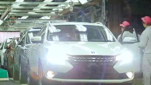 启辰T90跨界SUV 出色惊艳智领向前
