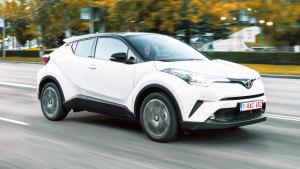 2017款丰田C-HR 多辐式铝合金轮毂设计