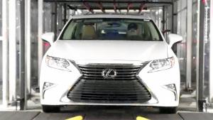 新款雷克萨斯ES 探秘高科技生产车间