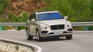 2017款宾利添越柴油版动态 搭载V8引擎