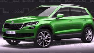 斯柯达新SUV性价比秒杀途观 新博瑞增双离合变速