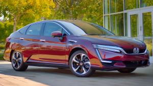 2017款氢燃料车Clarity 运动车型外观